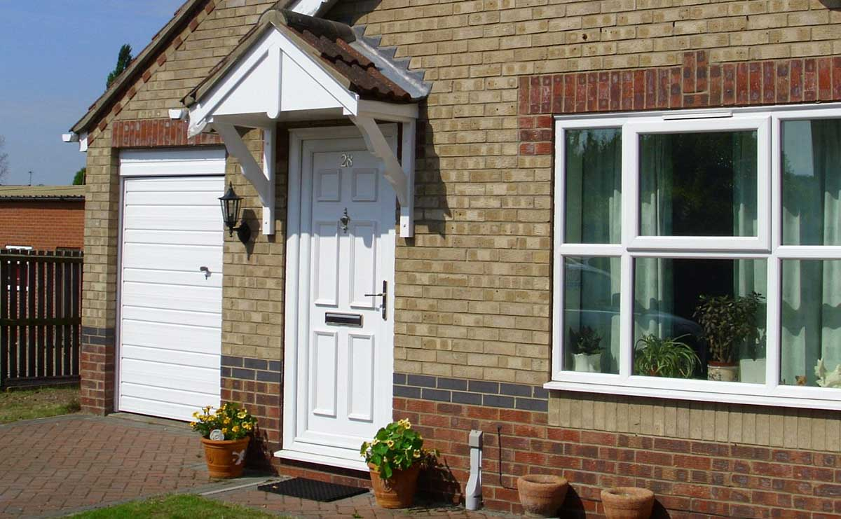 uPVC Panel Doors Malvern