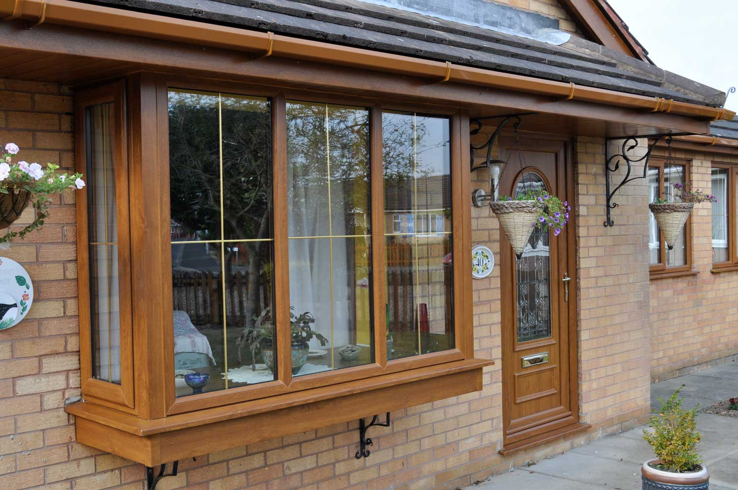 uPVC Bow Bay Windows