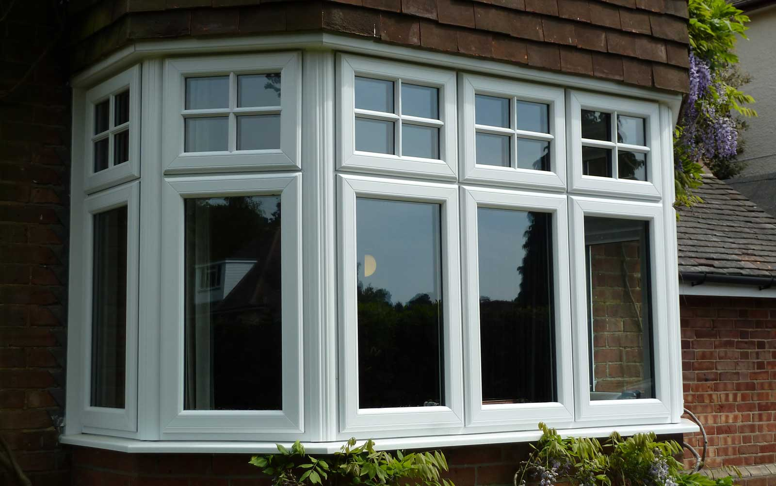 uPVC Bow Bay Windows Malvern