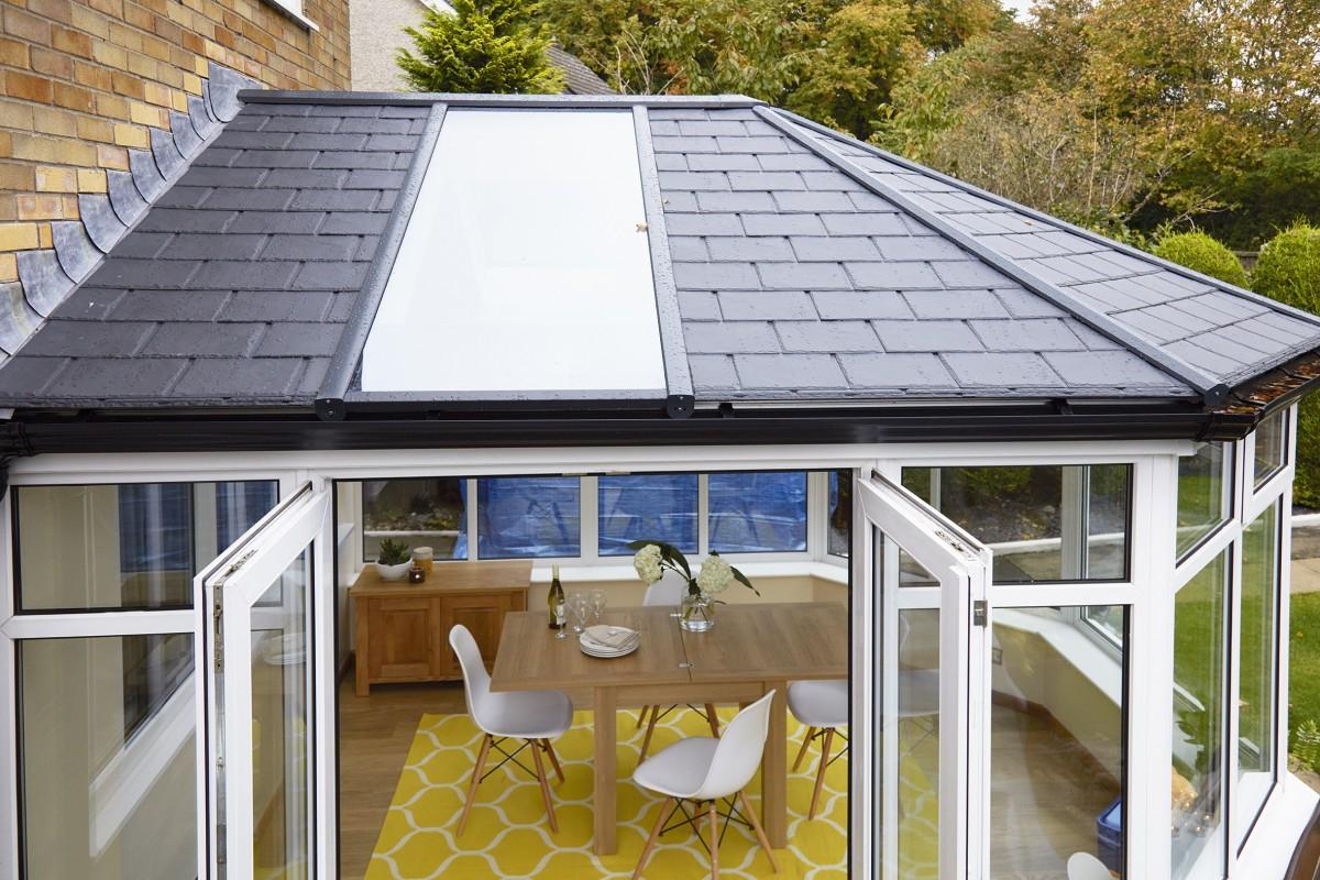 Conservatory roof ledbury