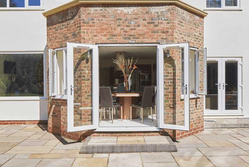 uPVC Doors for Evesham Homes